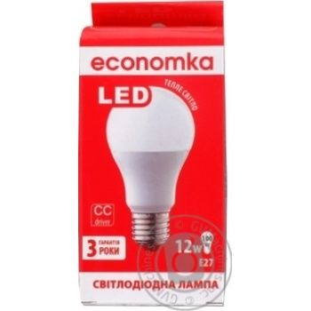 Ekonomka LED Lamp A60 12W E27  К2800 - buy, prices for Auchan - image 1