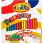 Plasticine Class 12colors for children's creativity 240g