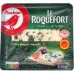 Сир Auchan Рокфор 55% 100г