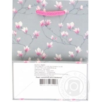 Пакет для подарков бумажный мини в ассортименте - купить, цены на Ашан - фото 3