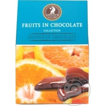 Конфеты Shoud'e Апельсин в шоколаде 100г