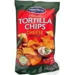 Чіпси Santa Maria Tortilla кукурудзяні з сиром та халапеньо 185г - купити, ціни на Ашан - фото 1