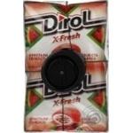 Резинка жевательная Dirol X-Fresh свежесть арбуза 18г