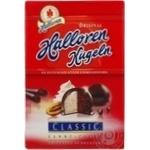 Конфеты шоколадные Halloren Kugeln классические с кремово-шоколадной начинкой 125г
