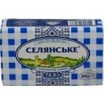 Масло сладкосливочное Селянське 72,5% 200г