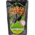 Маслины Maestro de Oliva без косточки 170г