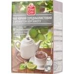 Чай Fine Life середньолистовий з ароматом бергамоту 100г