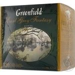 Чай Greenfield Earl Grey Fantasy 120пак