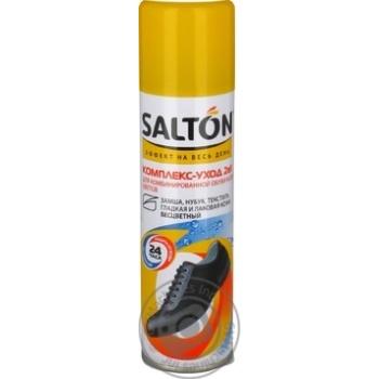 Комплекс-догляд для взуття Salton 2в1 для комбінованого взуття всіх кольорів 250мл - купити, ціни на МегаМаркет - фото 4