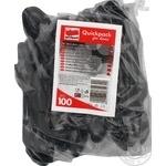 Ложки Quickpack одноразовые чайные черные 100шт