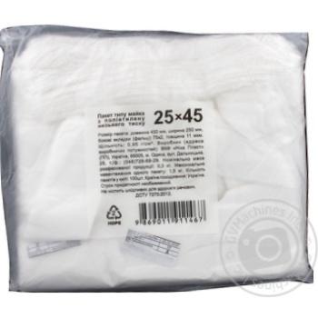 Пакеты майка 25x45см 100шт