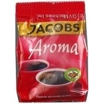 Natural ground roasted coffee Jacobs Aroma 75g Czech Republic