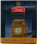 Черный чай Ристон ароматизированный бергамотом в пакетиках 100х2г Шри-Ланка