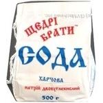 Сода пищевая Щедрые братья 500г