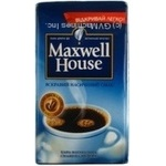 Natural ground roasted coffee Maxwell House 250g Czech Republic