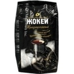 Natural coffee beans of medium roasting Jockey Traditional 400g Russia