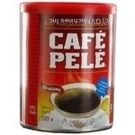 Natural instant coffee Cafe Pele 100g Brazil