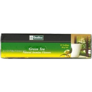 Зелений чай Кволіті з жасмином в пакетиках 25х2г Україна - купити, ціни на Novus - фото 4