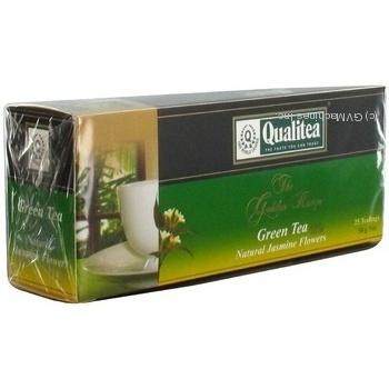 Зелений чай Кволіті з жасмином в пакетиках 25х2г Україна - купити, ціни на Novus - фото 5