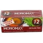 Чай чорний цейлон Мономах ф/п 25*1,5г