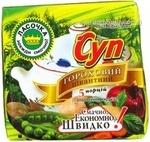Soup Lasochka Piquant peas 200g Ukraine