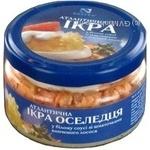 Caviar Norven salmon pieces 180g glass jar Ukraine