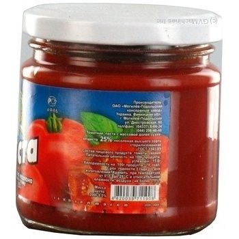 Паста томатна Дари Ланів 25% 200г - купити, ціни на МегаМаркет - фото 3