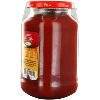 Продукт томатный Руна Золотой томат 490г - купити, ціни на МегаМаркет - фото 3