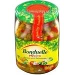 Овочі Бондюель Мексиканська овочі консервована 560г скляна банка Угорщина
