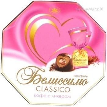 Цукерка Конті Беліссімо з шоколадом 255г в коробці Україна