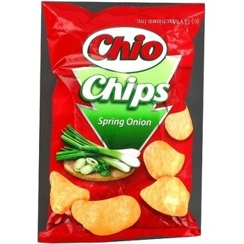 Чіпси з зеленою цибулею Chio-Wolf 75г