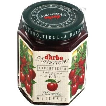 Варенье Дарбо вишневое 200г Австрия - купить, цены на Novus - фото 2