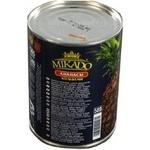 Ананаси Мікадо кільцями в сиропі 565г Таїланд - купити, ціни на Novus - фото 3