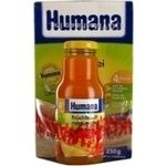 Pap Humana rice for children 250g Germany