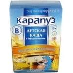 Каша детская Карапуз Рисово-кукурузная с бифидобактериями сухая быстрорастворимая с 4 месяцев 250г