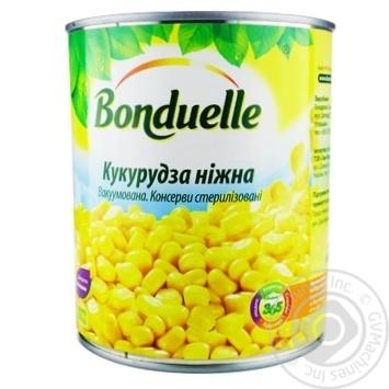 Кукурудза Бондюель ніжна вакуумована 850мл - купити, ціни на Novus - фото 1