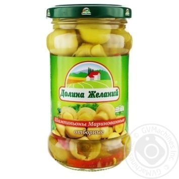 Dolina Zhelaniy Pickled Champignons 314ml - buy, prices for Furshet - photo 2