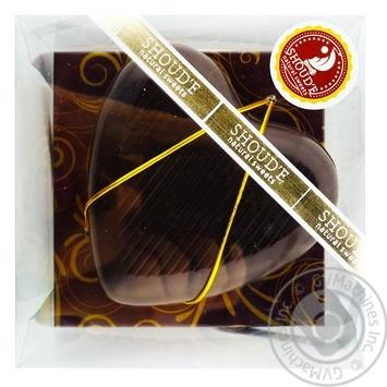 Shoud'e Chocolate Heart Swiss Dark 90g