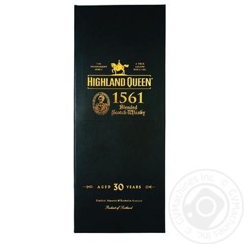 Віскі Highland Queen 30y.o.у подарунковій коробці 0.7л х2
