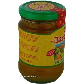 Honey Pasika linden 400g glass jar - buy, prices for MegaMarket - image 4