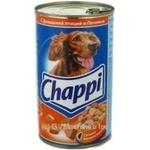 Консерва для собак Chappi Птиця,печінка 1,2кг