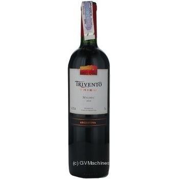 Вино червоне сухе Мальбек Trivento 0,75л