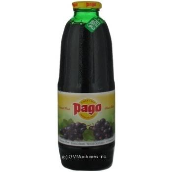 Нектар Паго из черной смородины неосветленный стеклянная бутылка 750мл Австрия