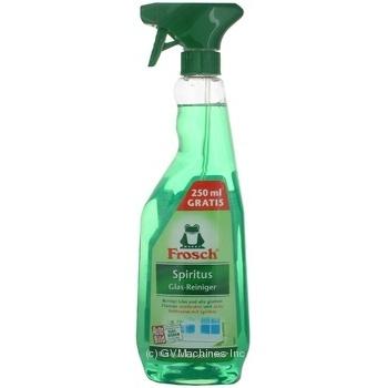 Средство для мытья стекла Frosh спиртовой 500мл - купить, цены на Novus - фото 2