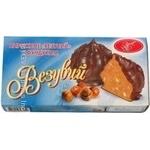 Shortcake Luchiano Vesuvius with hazelnuts 240g packaged Ukraine