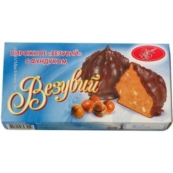 Пирожное Лучиано Везувий с фундуком 240г в упаковке Украина