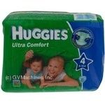 Підгузники Huggies Comfort 4 8-14кг 21шт
