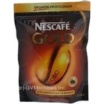 Natural instant sublimated coffee Nescafe Gold 150g Switzerland