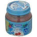 Пюре Nestle йогуртне малина,чорниця 125г