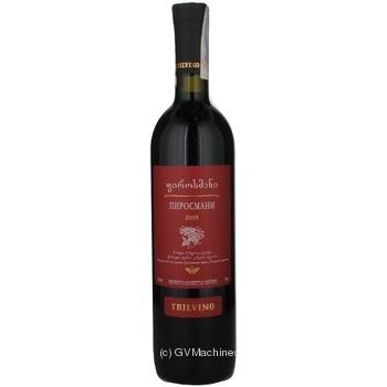 Вино Tbilvino Піросмані Черваоне 11,5% 0,75л